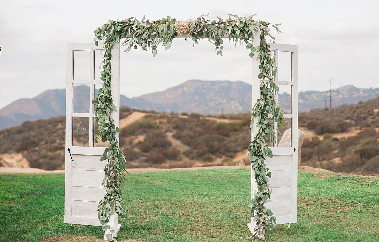 Wedding Door Rental Arch Rental French Door Rental