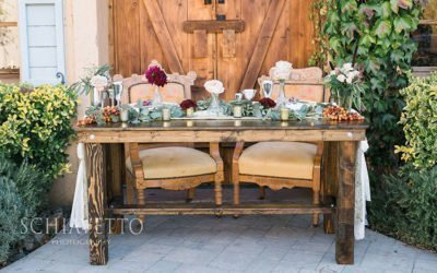 New! Sweetheart Table to Rent & Keep
