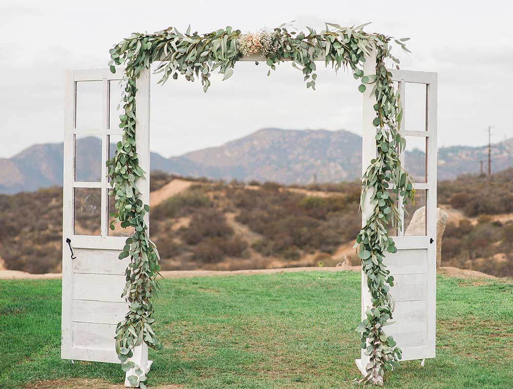 Rustic Wedding Door Rentals San Diego Ceremony Arch Rentals