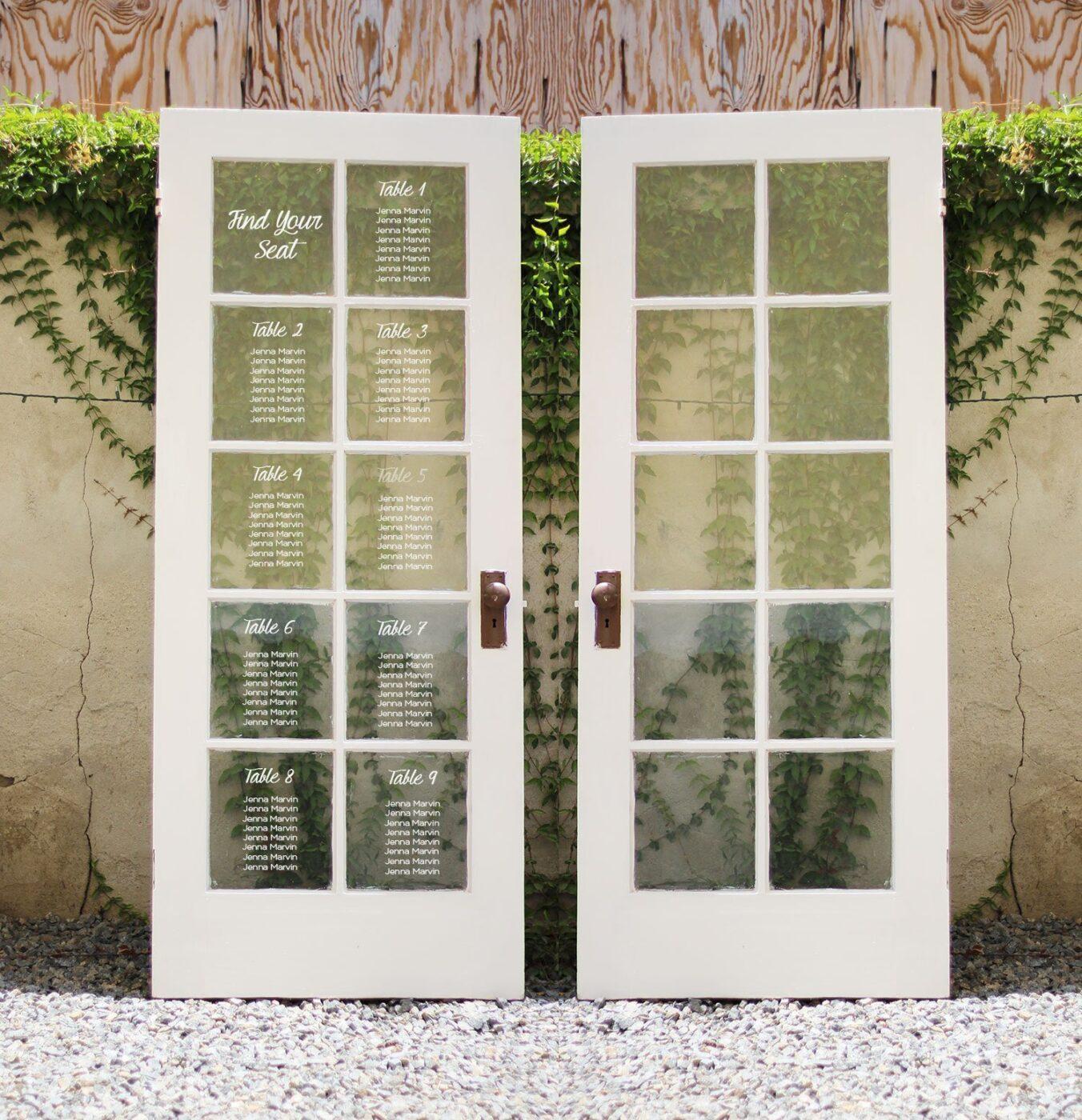 Antique French Door Rental - Antique French Door Rental Cedar And Pine Events