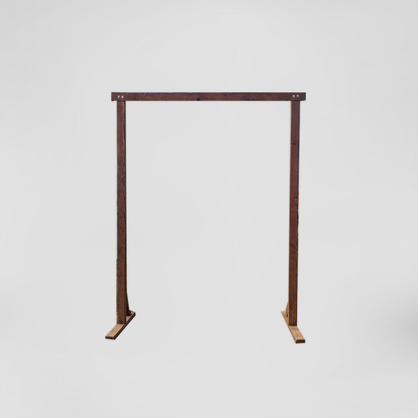 Basic Wood Arch | Cedar And Pine Events