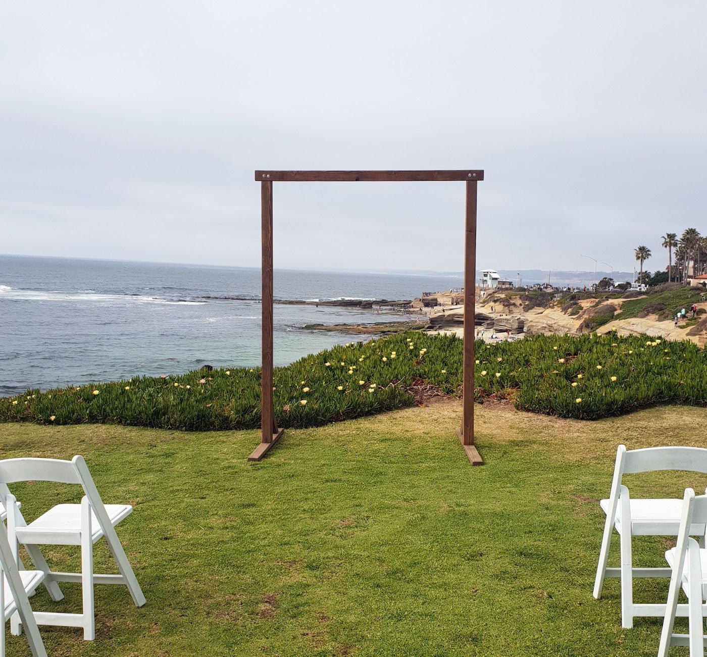 Rustic Wood Arch Rental Cedar And Pine Events