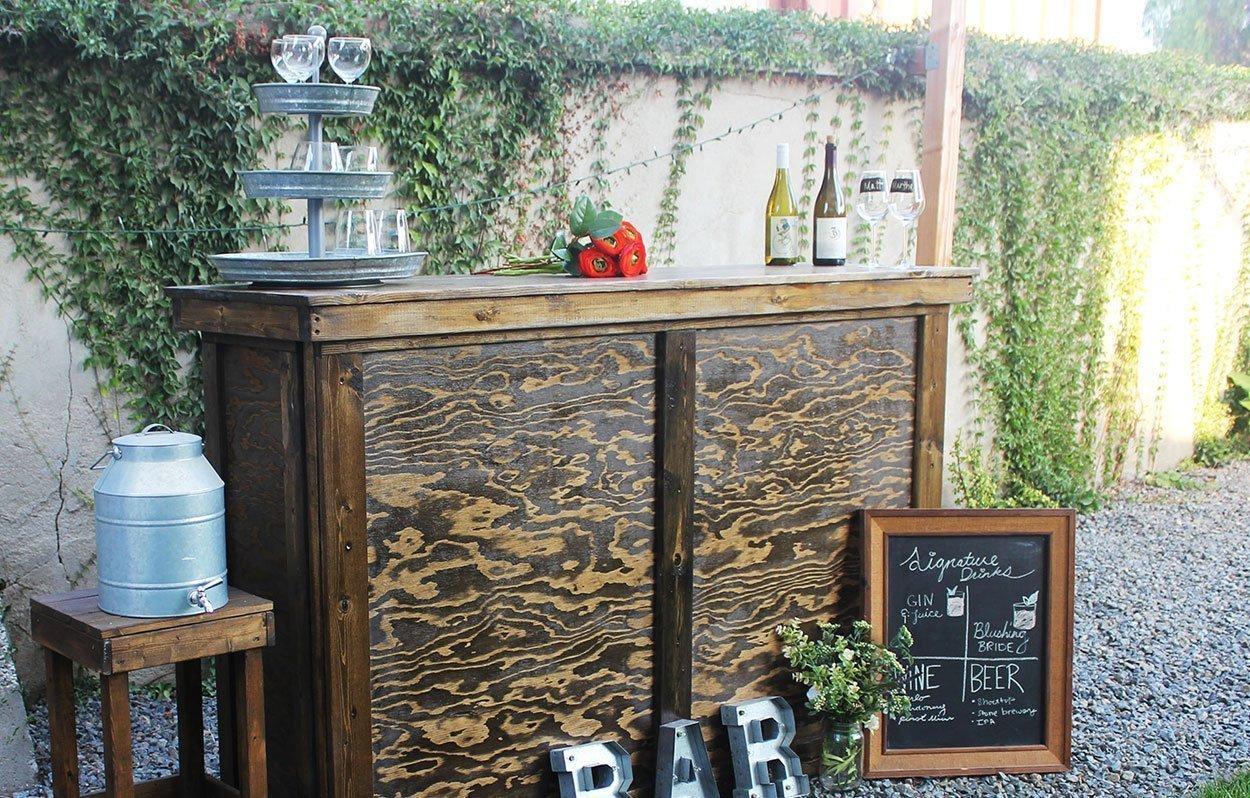 Rustic Bar Set Rentals