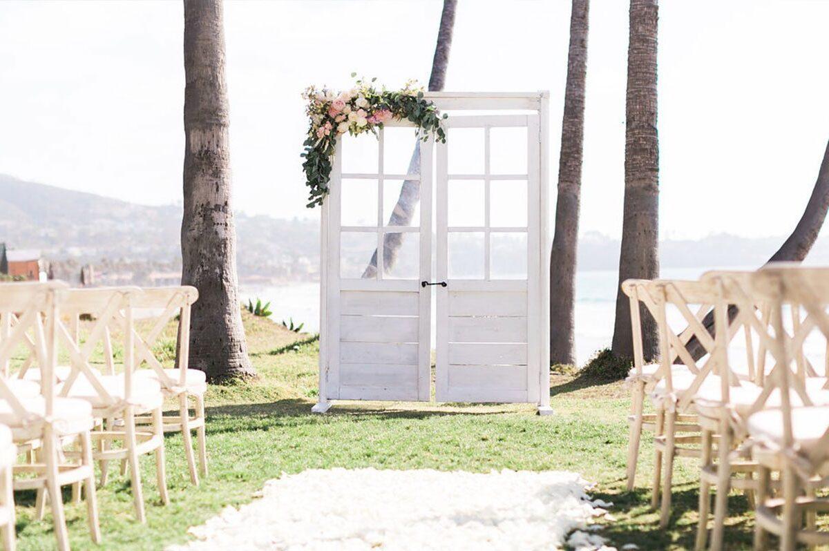 Rustic Wedding Door Rentals San Diego Ceremony Arch Rentals