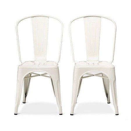 White Metal Chair Rental