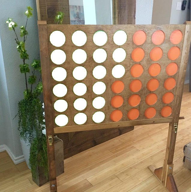 Connect Four Game Rental San Diego Yard Game Rental San