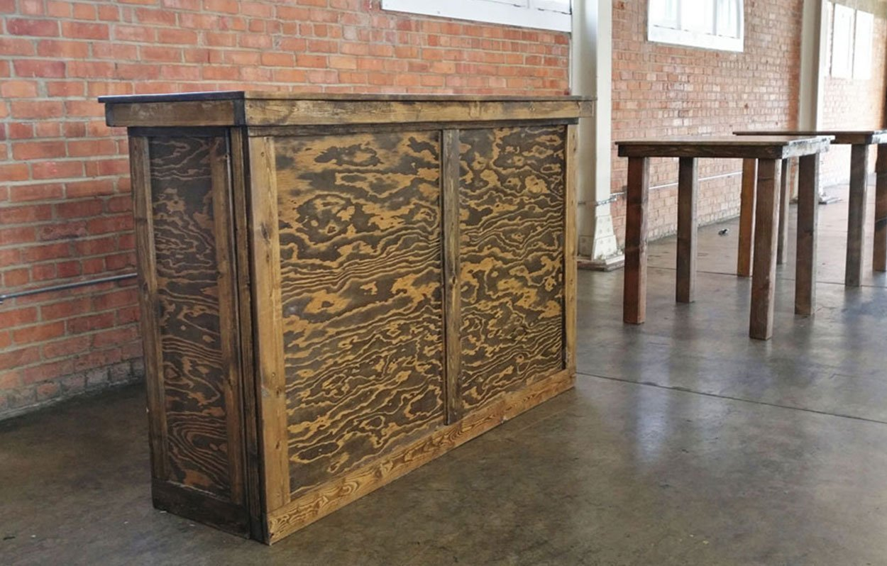 Rustic Bar Set Rentals