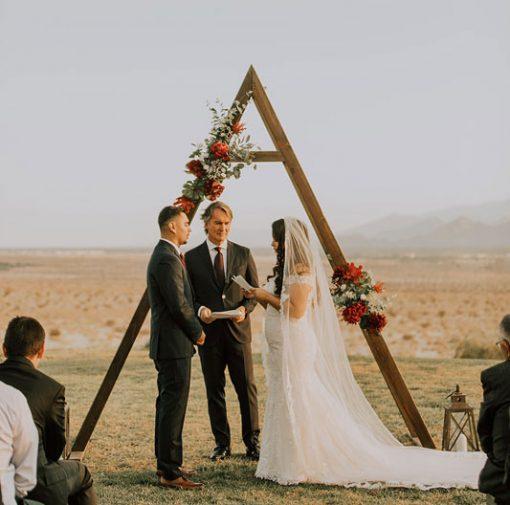 Triangle A Frame Arch Rental San Diego San Diego Ceremony