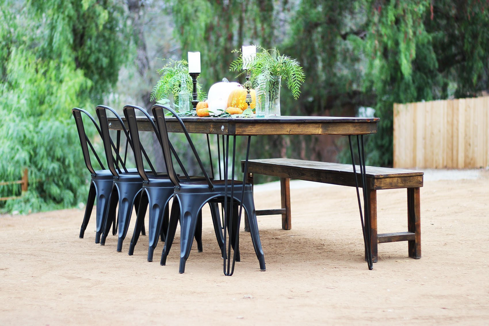 Farm Table Amp Bench Rentals San Diego