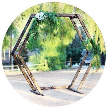 San Diego Farm Table Rentals Bench Rentals Ceremony Arch
