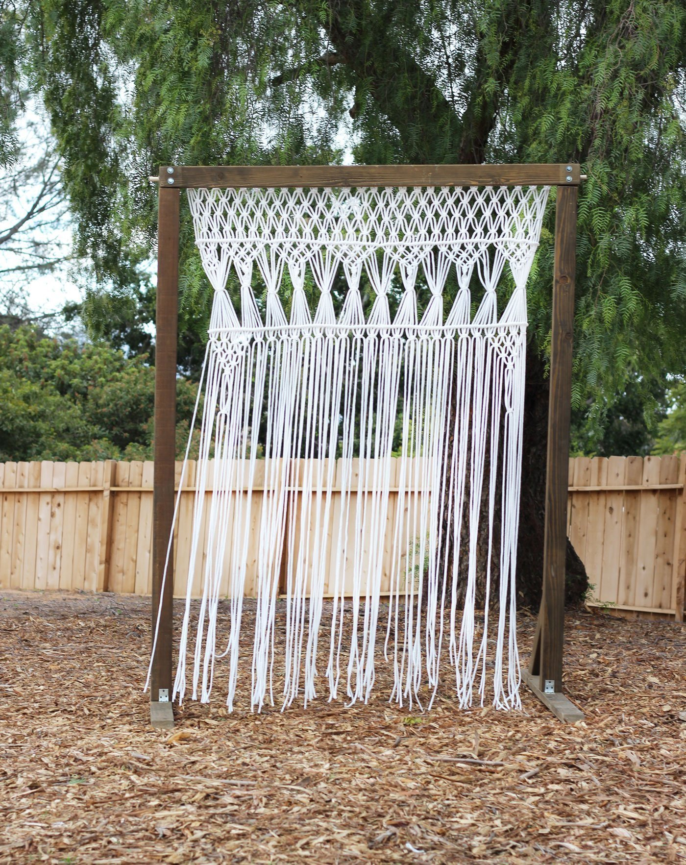 Macrame Ceremony Arch Rental San Diego Wedding Rental