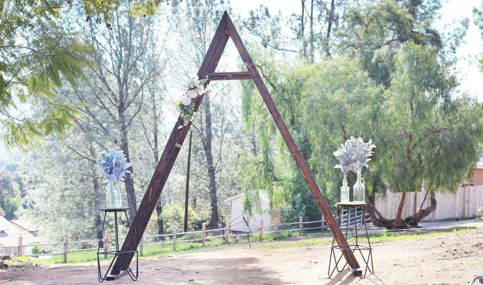 a-frame-triangle-arch-rental-san-diego