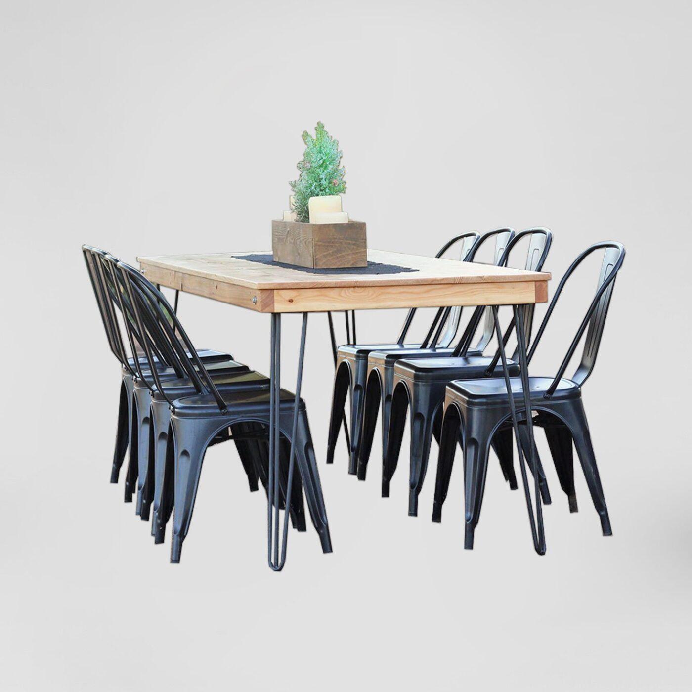 Honey Wood Farm Table Rentals San Diego Light Wood Table