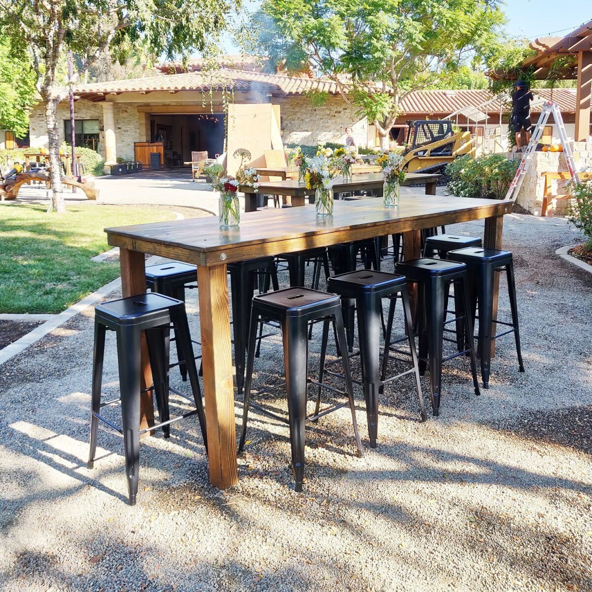 Picture of: Bar Cocktail Height Farm Table Rentals San Diego Event Rentals San Diego