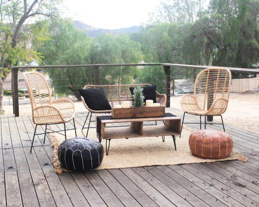 Sand Rattan Lounge Cedar And Pine Events