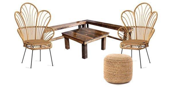 San Diego Vintage Furniture Rentals and Lounge Furniture